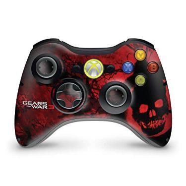 Skin Adesivo Para Xbox 360 Controle - Gears Of War 3