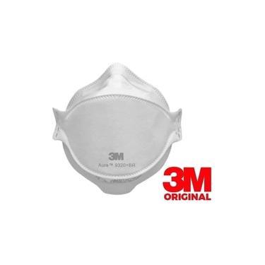 Máscara 3m N95 Pff2 9320 Branca Original Inmetro Anvisa ca: 30592 cirurgica hospitalar dentista odonto