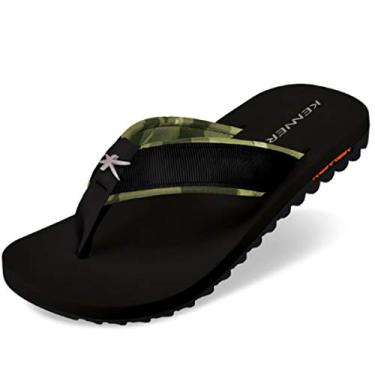 Chinelo Kenner Kivah Force Txm-03 38 Preto/Camufla