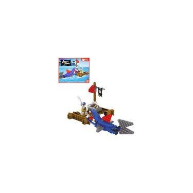 Blocos De Montar Ataque Pirata Tipo Lego 97 Peças - Dm Toys