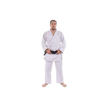 Kimono Judô Mks Combat Extra Heavy Branco 950g/m2 160