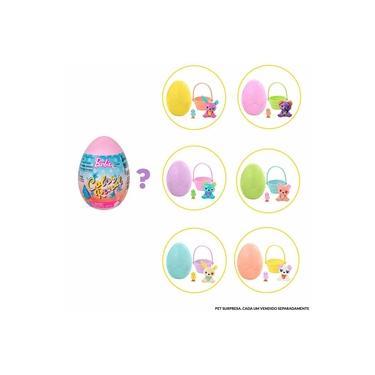 Imagem de Mini Figura - Barbie Color Reveal - Ovo Surpresa - Pet - 5 Surpresas - Mattel
