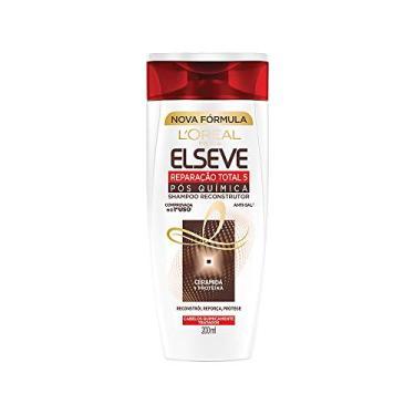 Shampoo Reparação Total 5 Química Elseve L'Oréal Paris 200 ml, L'Oréal Paris, Branco
