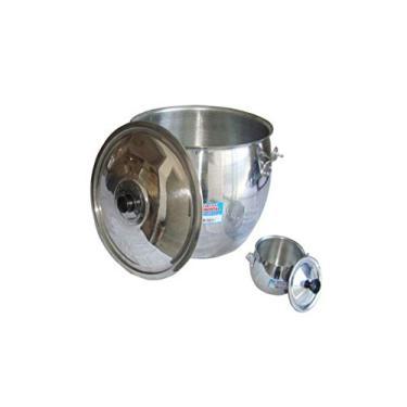 Caldeirão Bojudo De Alumínio Continental 1,3 Litros