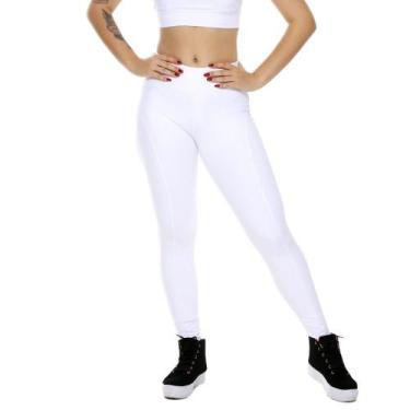 Imagem de Legging Feminino Miss Blessed Fitness Montaria Branco