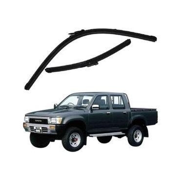 Kit Palhetas Limpador de Parabrisa Dianteiro Toyota Hilux Ano 1994 - 2005