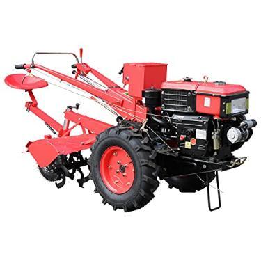 Imagem de Micro Trator Motocultivador 12.5hp Diesel com Enxada Rotativa Motor Partida Elétrica Tipo Tobata