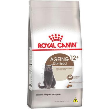 Ração Royal Canin Feline Health Nutrition Sterilised para Gatos Adultos Castrados Acima de 12 Anos - 1,5 Kg