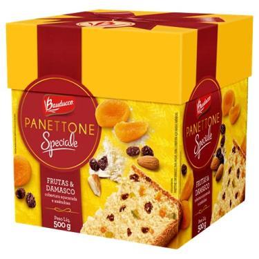 Imagem de Panettone Bauducco Speciale Frutas e Damasco 500g