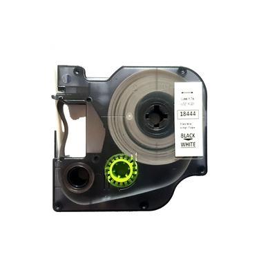 Fita Vinil D1 18444 Compativel para Rotulador DYMO 12mm Branca