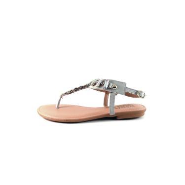 Sandália Infinity Shoes Rasteira Gelo Rasteira feminino