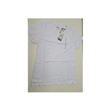 Kit com 3 Camisetas Feminina Hering 0241 Algodão Tamanho:XG;Cor:Branco