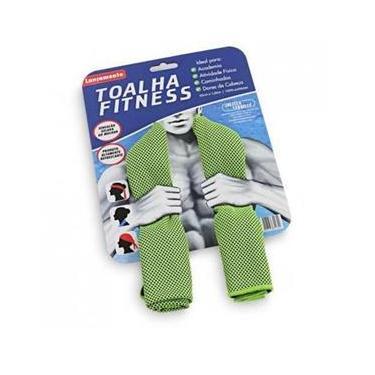 Toalha Esportiva Fitness 30X100Cm Jolitex - Verde