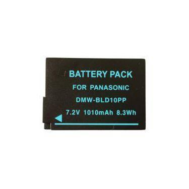 Imagem de Bateria DMW-BLD10PP para câmera Panasonic Lumix DMC-G3