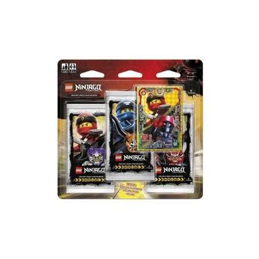 Kit com 2 Blisters Triplos - Lego Ninjago - Masters Of Spinjitzu - Jogo de Cartas - Copag