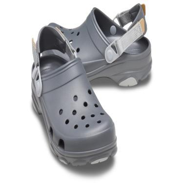 Sandália Crocs Classic All Terrain Cinza.  masculino