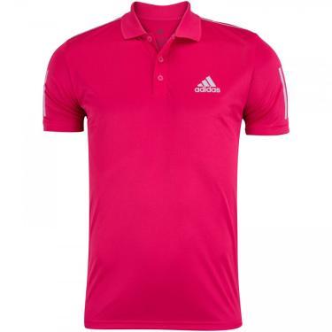 Camisa Polo adidas Club 3STR - Masculina adidas Masculino
