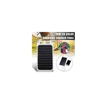 Mini painel solar de luz fina de célula solar Carregador de bateria USB Carregadores de bateria solar portátil USB Banco de energia solar para telefone Carregador de carro para aca