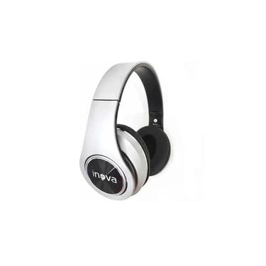 Fone Headphone Bluetooth fon-2262d Inova Cinza/Prata