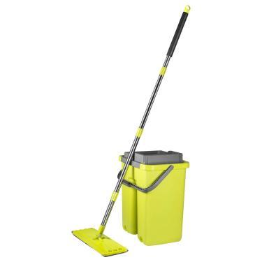 Limpador Multiuso  - Mop Flat - Wash & Dry - Quadrado Verde