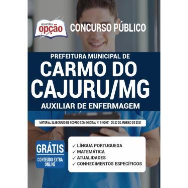 Imagem de Apostila Carmo Do Cajuru Mg - Auxiliar De Enfermagem