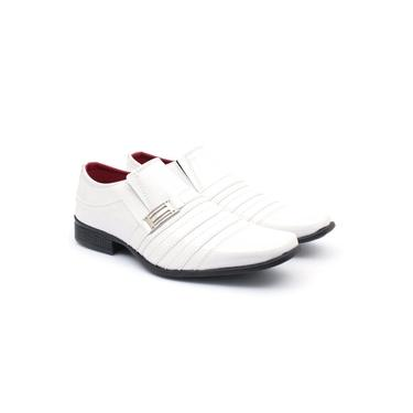 Sapato Social Renovally Branco