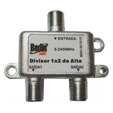 Divisor De Antena 1 Entrada 4 Saídas 950-2400Mhz S06-04 Oem