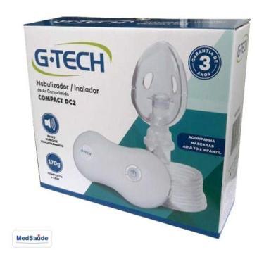 Imagem de Aparelho Nebulizador Portátil G-tech Compact Dc2 C/