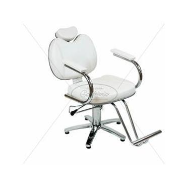 Poltrona Cadeira Rubi Reclinavel Hidraulica Cabeleireiro