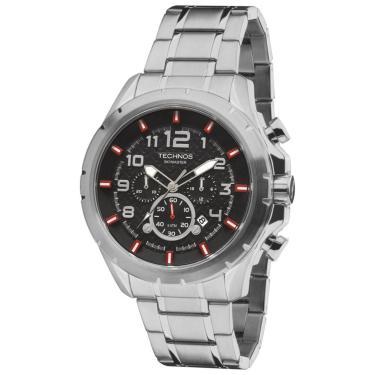 648d917f276 Relógio Technos Skymaster JS25BH 1P Prata masculino