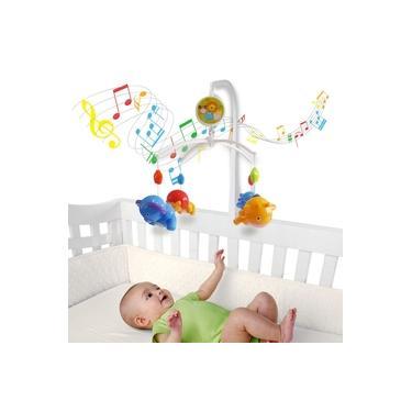 Imagem de Móbile Giratório Musical De Bebê - Safari