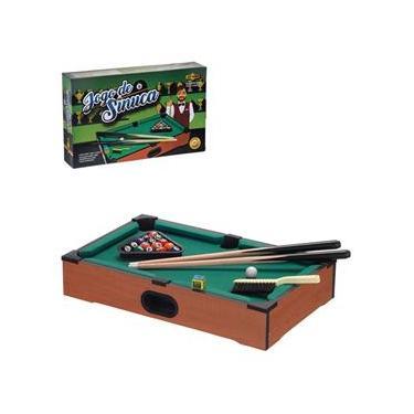 Mesa De Sinuca Bilhar Snooker De Madeira Infantil