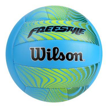 5160c2eca16c5 Bola de Vôlei Freestyle Wilson - Azul Laranja