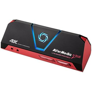 Avermedia Placa Captura Gc513 Placa Captura Vídeo Usb Avermedia Live Gamer Portable 2plus - Gc513, Preto - Windows