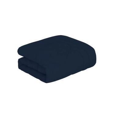 Imagem de Edredom Trussardi Colore casal 220x250cm azul marinho