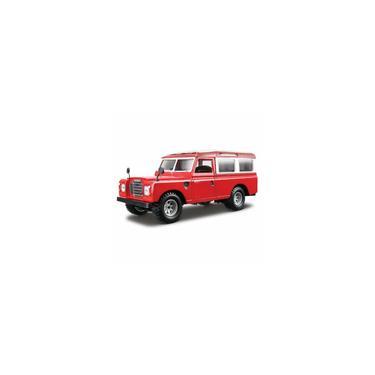 Imagem de Miniatura Bburago Land Rover 1/25 Vermelho