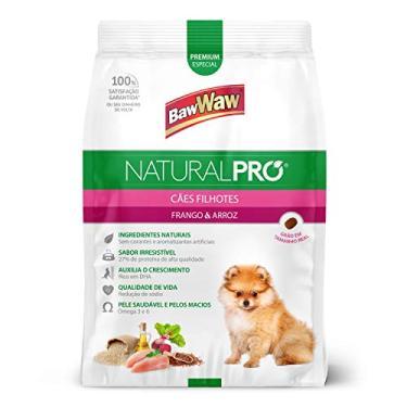 Ração Baw Waw Natural Pro para cães filhotes sabor Frango e Arroz - 2,5kg