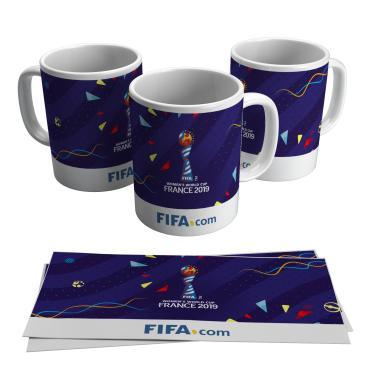 Caneca Copa do Mundo de Futebol Feminino Taça França 2019