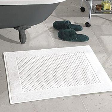 Imagem de Toalha de Piso Tapete Dohler Felpudo Prime Branco 50 x 70 cm