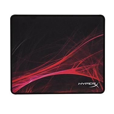 Mouse Pad Gamer Hyperx Fury S Speed Edition HX-MPFS-S-SM, Kingston, Preto/Vermelho