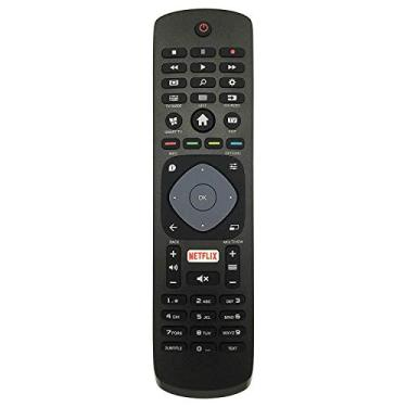 Controle Remoto para TV Philips Smart 4K LCD LED Função Netflix