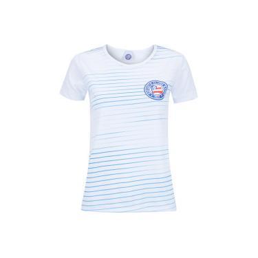 Camiseta do Bahia Rise - Feminina - BRANCO AZUL CLA Xps Sports 978900c35e65d