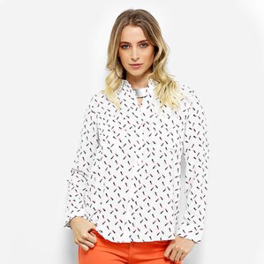Camisa Facinelli Batom Feminina - Feminino e269668f6e12a