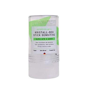 Imagem de Alva Naturkosmetik Desodorante Stick Kristall Sensitive -120g, Incolor
