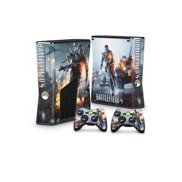 Skin Adesivo para Xbox 360 Slim - Battlefield 4
