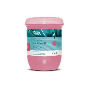 Gel Pós Depilação 750g D'Agua Natural