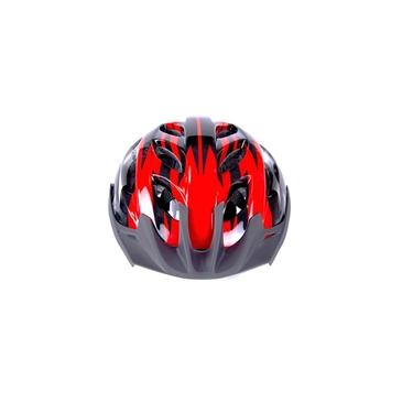 Imagem de Capacete Ciclista Adulto Tamanho Único C/ Regulagem P/ Bike Ciclismo Skate Patins - Vermelho