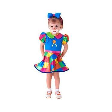 Fantasia Palhacinha(Baby) Sulamericana Carnaval ff2e08b45d9