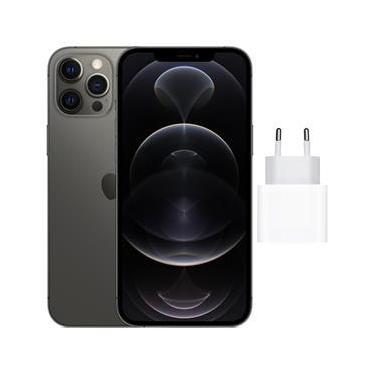 Imagem de iPhone 12 Pro Max Apple 128GB Grafite + Carregador USB-C de 20W Apple
