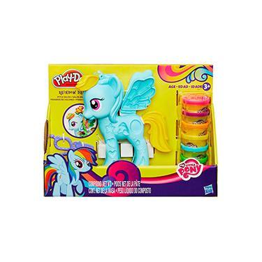 Imagem de Conjunto Play-Doh My Little Pony Pônei E Penteados - Hasbro